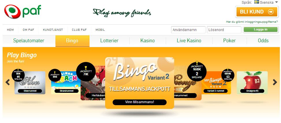 Paf Bingo