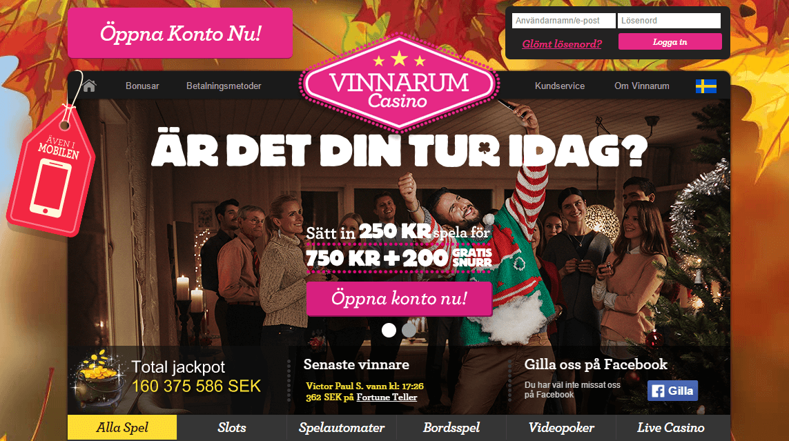 Vinnarum Startsida