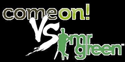 Är ComeOn eller MrGreen bäst för svenska spelare?