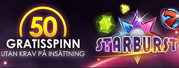 Starburst Spins