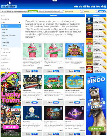 jackpotjoy appar screenshot