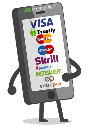 casino mobile online payment methods