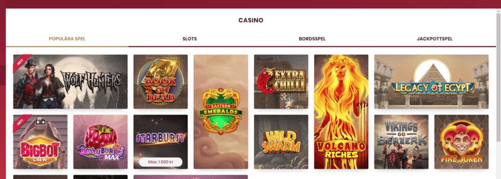 Cherry Casino Recension