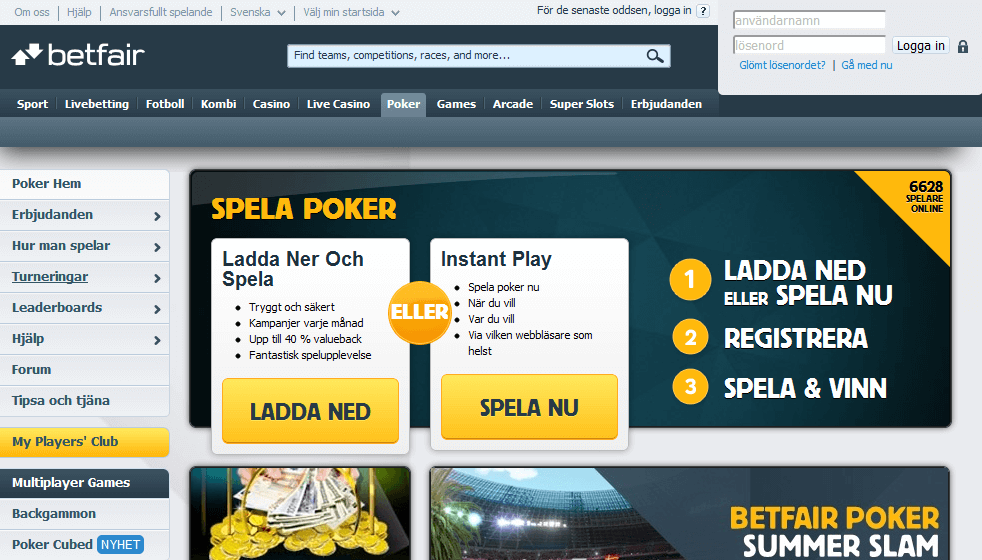 Betfair Poker bonus