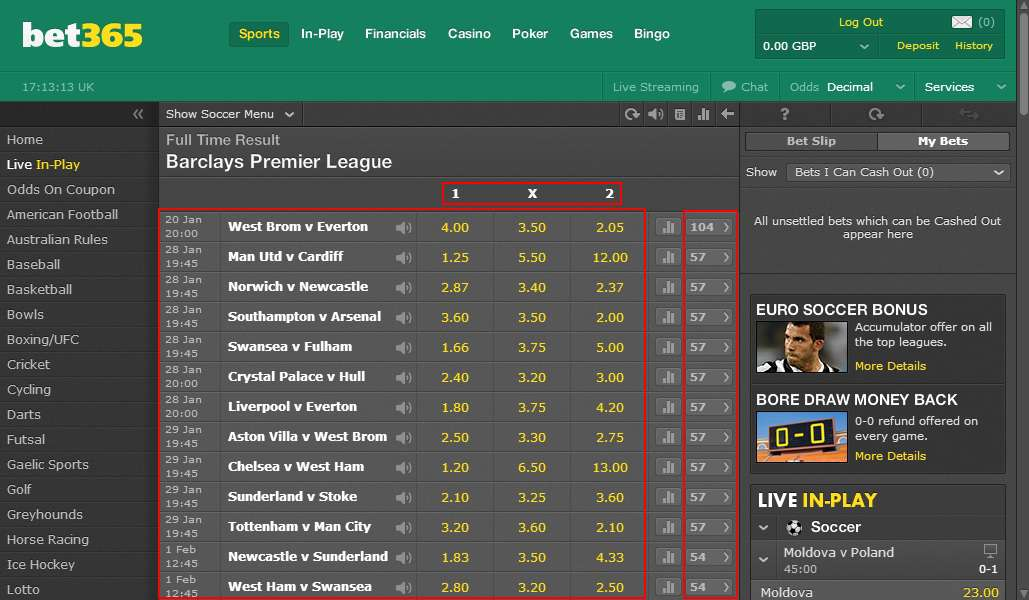 bet365 accumulator setsning