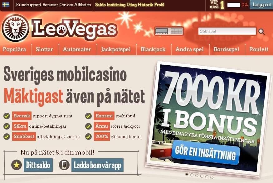 Leo-Vegas bonus
