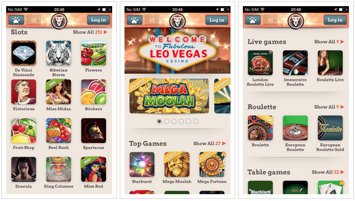 Leo-Vegas-iPhone-app