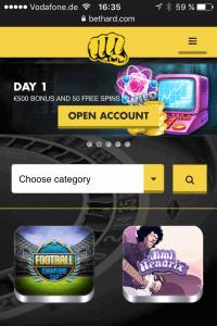 Bethard Mobile App