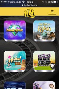Mobile App Bethard