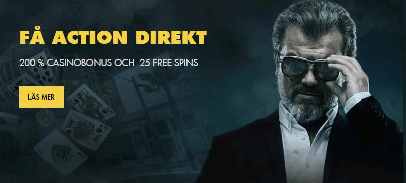 Bethard 200% casinobonus och 25 free spins