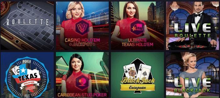 live casino Maria Casino