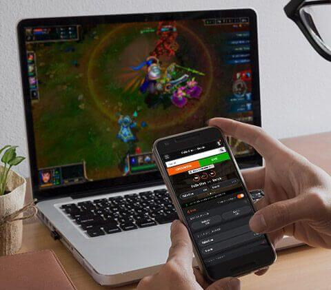 mobilapp eSports betting