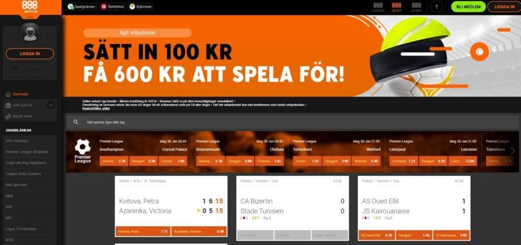 888sport oddset